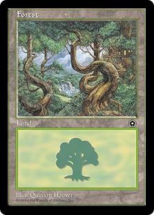 《森/Forest》B(Twisted) Quinton Hoover[PO2] 土地