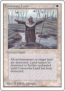 《土地の聖別/Consecrate Land》[2ED] 白U