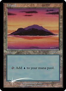 ベータ版《島/Island》[アリーナ] 土地