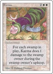 《因果応報/Karma》[2ED] 白U