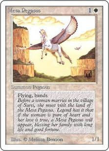 《メサ・ペガサス/Mesa Pegasus》[2ED] 白C
