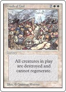 《神の怒り/Wrath of God》[2ED] 白R