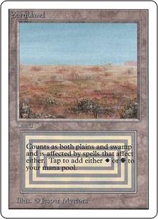 《Scrubland》[2ED] 土地R