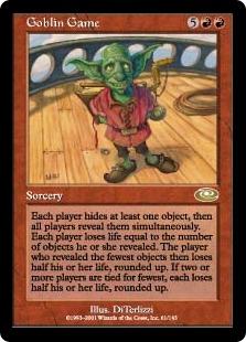 《ゴブリンのゲーム/Goblin Game》[PLS] 赤R