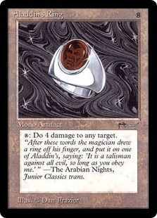 《アラジンの指輪/Aladdin's Ring》[ARN] 茶R