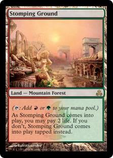 《踏み鳴らされる地/Stomping Ground》[GPT] 土地R