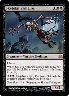 《骸骨の吸血鬼/Skeletal Vampire》[GPT] 黒R