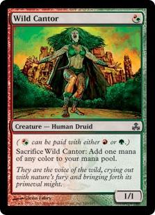 《野生の朗詠者/Wild Cantor》[GPT] 混C