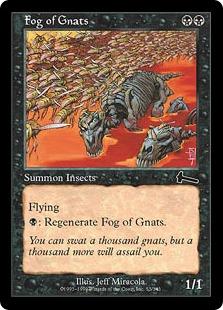 《羽虫の大群/Fog of Gnats》[ULG] 黒C