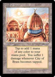 《真鍮の都/City of Brass》[ARN] 土地U