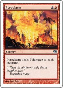 《紅蓮地獄/Pyroclasm》[9ED] 赤U