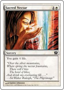 《聖なる蜜/Sacred Nectar》[9ED] 白C
