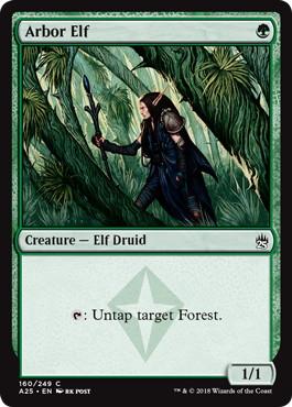 《東屋のエルフ/Arbor Elf》[A25] 緑C