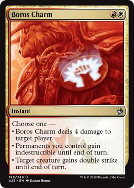 《ボロスの魔除け/Boros Charm》[A25] 金U