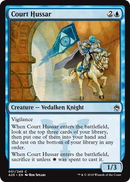 《宮廷の軽騎兵/Court Hussar》[A25] 青C