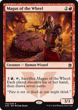 《輪の大魔術師/Magus of the Wheel》[A25] 赤R