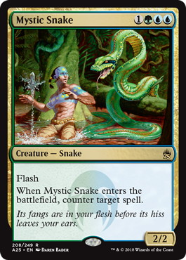 《神秘の蛇/Mystic Snake》[A25] 金R