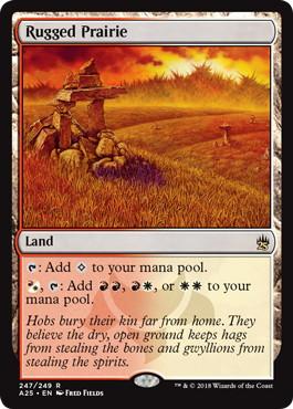 《岩だらけの大草原/Rugged Prairie》[A25] 土地R