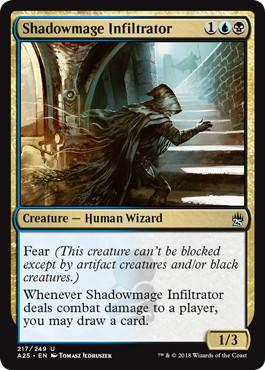 《影魔道士の浸透者/Shadowmage Infiltrator》[A25] 金U
