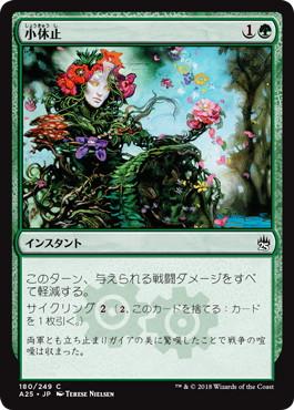 《小休止/Lull》[A25] 緑C