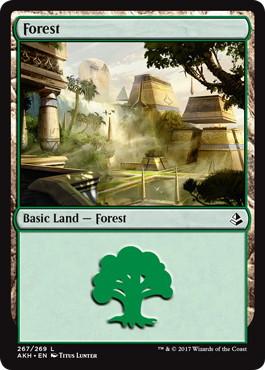 《森/Forest》[AKH] 土地(267)