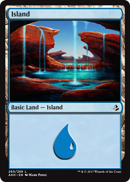 《島/Island》[AKH] 土地(260)