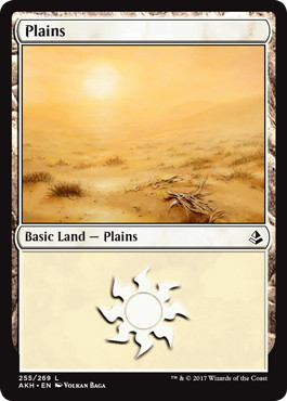 《平地/Plains》[AKH] 土地(255)