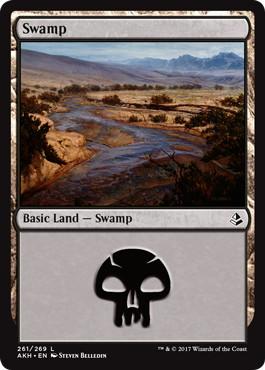 《沼/Swamp》[AKH] 土地(261)