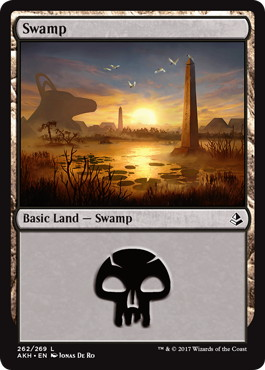 《沼/Swamp》[AKH] 土地(262)