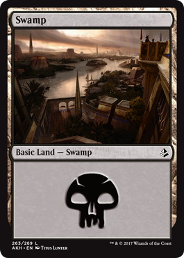 《沼/Swamp》[AKH] 土地(263)
