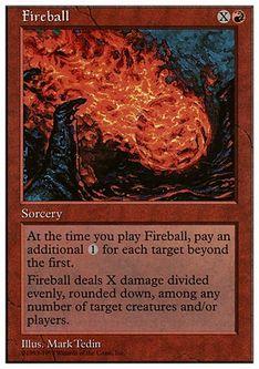 《火の玉/Fireball》[ATH] 赤