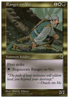 《ヴェクのレインジャー/Ranger en-Vec》[ATH] 金