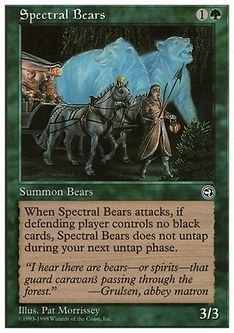 《Spectral Bears》[ATH] 緑