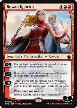 《ローアン・ケンリス/Rowan Kenrith》[BBD] 赤R