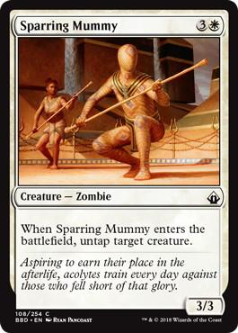 《演習ミイラ/Sparring Mummy》[BBD] 白C