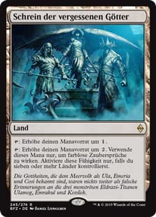 《見捨てられた神々の神殿/Shrine of the Forsaken Gods》[BFZ] 土地R