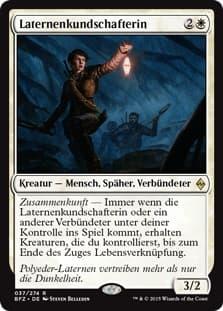 《ランタンの斥候/Lantern Scout》[BFZ] 白R