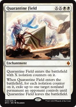 《隔離の場/Quarantine Field》[BFZ] 白R
