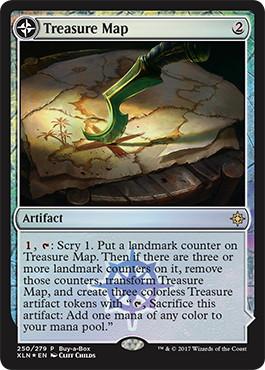 《宝物の地図/Treasure Map》/《宝物の入り江/Treasure Cove》[BOXプロモ] 茶R