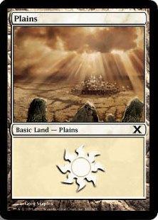 《平地/Plains》(366)[10ED] 土地