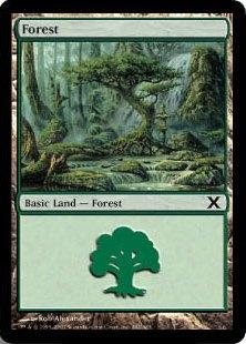 《森/Forest》(382)[10ED] 土地