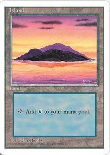 《島/Island》[4ED]C 土地