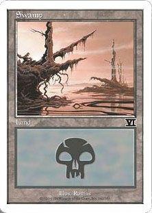 《沼/Swamp》(342)[6ED] 土地