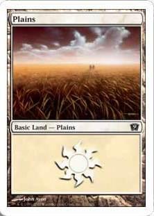 《平地/Plains》(331)[9ED] 土地