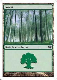 《森/Forest》(350)[9ED] 土地