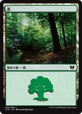 《森/Forest》[C15] (340)土地