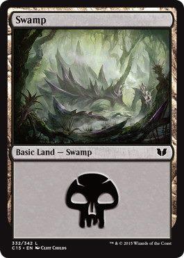 《沼/Swamp》[C15] (332)土地