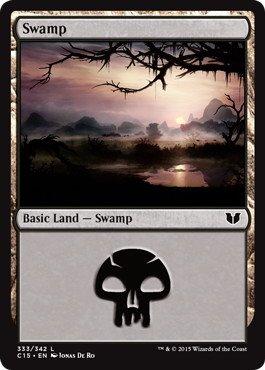 《沼/Swamp》[C15] (333)土地
