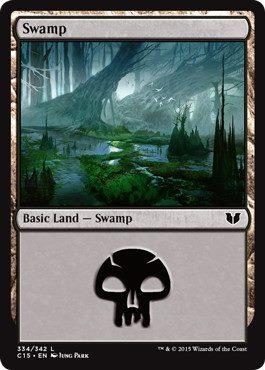《沼/Swamp》[C15] (334)土地