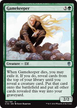 《猟場番/Gamekeeper》[C16] 緑U
